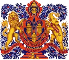 Dhrangadhra Coat of Arms