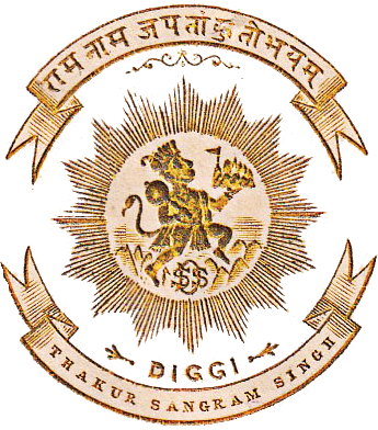 Diggi Coat of Arms
