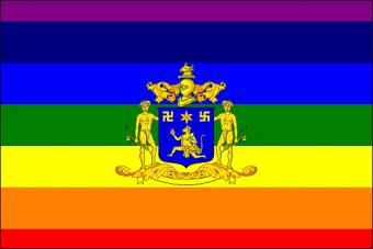 Dungarpur Flag