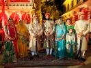 Padmaja Kumari Parmar, Vijayraj Kumari Mewar, Shriji, Lakshyaraj Singh Mewar, Bhargavi Kumari Mewar, Lokaviaa Mewar Rathore, Bhuvika Mewar Rathore and Lokendra Singh Rathore of Kotri (4th Dec 2013)