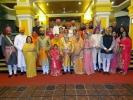 Patmudi Dastur Ceremony of Lakshyaraj Singh Mewar of Udaipur with Maharaj Kumari Nivritti Kumari Singh Deo of Balangir Patna, held at Patna House, Bhubaneswar, Odisha on 14th November 2013.
