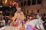 Varnikasi as part of Lakshyaraj Singh Mewar's Wedding Ceremonies continues from Chandra Chowk to Badi Pol, The Palace, Udaipur on 20th January 2014