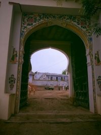 Bada Khera Garh Entrance Gate