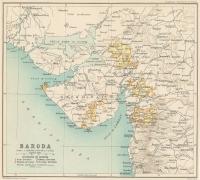 Baroda state in 1909