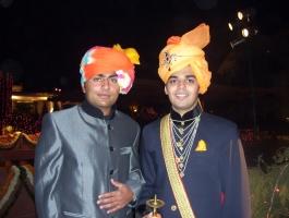 Kumar Shri Satyajitsinhji Gohil & Kumar Shri Kartiksinhji Raol of Bhavnagar