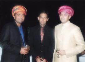 Kumar Shri Satyajitsinhji Gohil of Bhavnagar , Kunwar Raviraj Singh Rathore of Ras & Kumar Shri Kartiksinhji Raol of Bhavnagar
