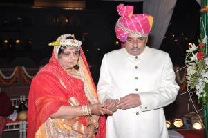 Raol Shri Lokendrasinhji Chandrajitsinhji Gohil & Rani Sahiba Mamta Devi Sahiba of Bhavnagar