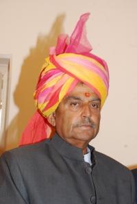 Raol Shri Narendrasinhji Chandrajitsinhji Gohil of Bhavnagar