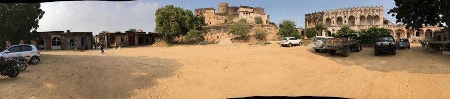 Boraj Fort front view