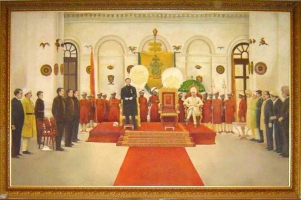 Cooch Behar Durbar Hall, Maharaja Rajrajendra Narayan