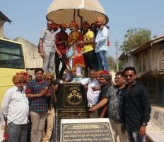Statue of Vejalsinhji Dabhi of Dangarwa State