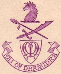 Dhrangadhra Raj Emblem