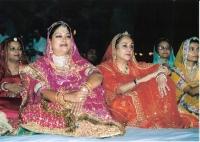 Jaipur Her Highness Padmini Devi Ji with Vasundhara Raje