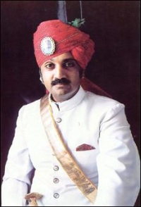HH Raj Rajeshwar Saramad-i-Rajha-i-Hindustan Maharajadhiraja Maharaja Shri GAJ SINGHJI II Sahib Bahadur