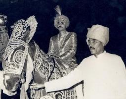 Raja Wg.Cdr Abhay Singh(Present Head)