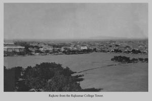 Rajkot from Rajkumar College tower