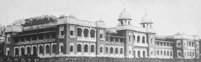 Rajpipla High School, built during the reign of Maharaja Vijaysinhji