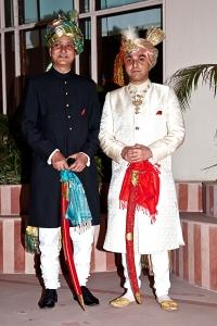 Lal Sahib Rajvikram Singh Deo & Patayet Sahib Maharajkumar Jairaj Singh Deo of Seraikella