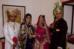 Seraikella Royal Family: Patayet Sahib Maharajkumar Jairaj Singh Deo, Patayet Rani Sahiba Ruponanda Devi, Lal Sahiba Ambica Kumari Devi & Lal Sahib Rajvikram Singh Deo