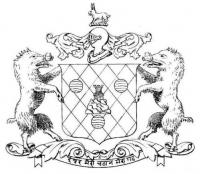 Original COA of Ali Rajpur State (Ali Rajpur)