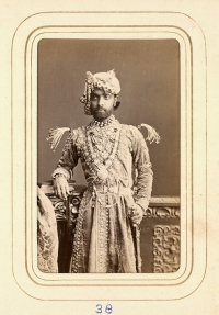 Portrait of Raja Sheodan Singh (1845-1874) (Alwar)