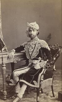 H.H. Maharao Raja Shri Sheodan Singhji Veerendra Shiromani Dev Bharat Prabhakar Bahadur, Maharao Raja of Alwar.( 1857 - 1874) (Alwar)