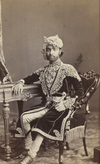 H.H. Maharao Raja Shri Sheodan Singhji Veerendra Shiromani Dev Bharat Prabhakar Bahadur, Maharao Raja of Alwar.( 1857 - 1874)