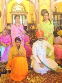 Engagement Ceremony of Karni Sodha of Amarkot and Padmini Singh of Kanota on 10th June 2014 (Amarkot)