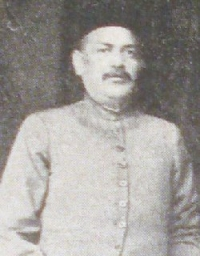 Rai Bahadur Babu Sri BHAGWATI SARAN SINGH JI (Anapur)