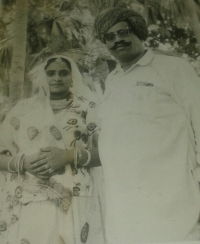 Thakur Ajaypal Singh and Thakrani Dhiraj Kanwar (2nd wife) since 1970 (Aratwada)