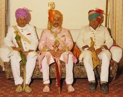 Bhawani Singh Ji, Maan Singh Ji and Bheru Singh Ji