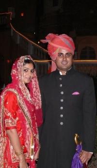 Kunwar Avijit Singh with Sister Baisa Divija Singh
