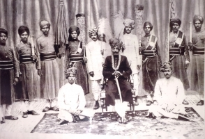 Thakur Bhairo Singh Ji, grandfather of present Thakur Bhawani Singh Ji