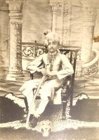 Thakur Sajjan Singh Ji, father of present Thakur Bhawani Singh Ji