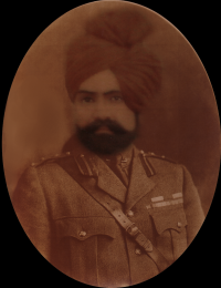 Th. Chander Singh Ji, A.D.C to His Majesty King George V of U.K.