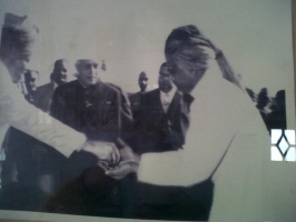 Th.Bhawani Singh with Pandit Nehru (Balunda)