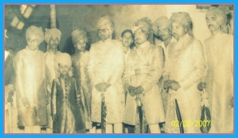 Th.Bhawani Singhji at Dhula Wedding (Balunda)