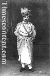 HH Maharaja Sahib Shri Indrasinhji Pratapsinhji