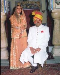 Kunwar Amarveer Singh and Kunwarani Anita Kumari
