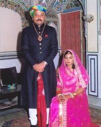 Kunwar Manveer Singh and Kunwarani Harshita Kumari