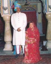 Thakur Raghubir Singh and Thakurani Sudhir Kumari