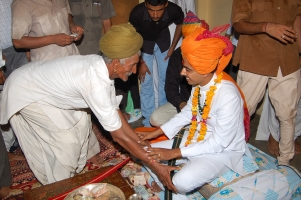 Royal Coronation Ceremony at Barmer