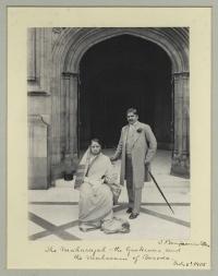 Chimnabai II, Maharani of Baroda; Sir Sayaji Rao III, Maharaja of Baroda