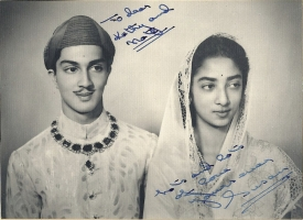 Maharaja Fatehsinghrao II Gaekwad, older son of Maharaja Pratapsinhrao Gaekwad with wife Maharani Padmavatiraje Gaekwad, better known as Susan Gaekwad
