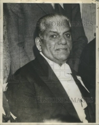 Maharaja of Baroda Sayajirao Gaekwar in his last years, 1937
