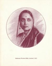 Maharani Chimnabai II Gaekwar of Baroda, 1921