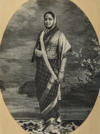 Maharani Chimnabai II of Baroda, née Shrimant Gajrabai Ghatge of Dewas Senior