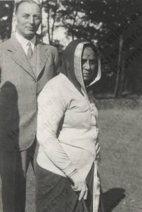 Maharani of Baroda Chimnabai Gaekwar during an European holiday in 1930s