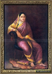 Portrait of Maharani Chimnabai