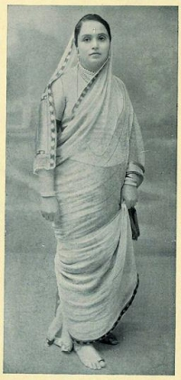 Shrimant Akhand Soubhagyavati Maharani Chimnabai II Gaekwad, wife of Maharaja Sayajirao Gaekwad, mother of Maharani Indiraraje of Cooch Behar and maternal grandmother of Rajmata Gayatri Devi of Jaipur